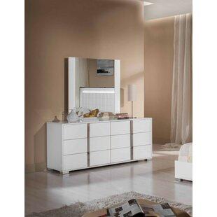 Orren Ellis Demaria 6 Drawer Double Dresser