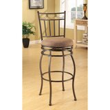 Bascomb Swivel Bar Stool (Set of 2) by Fleur De Lis Living
