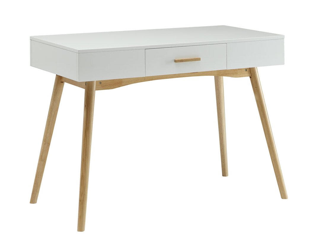 Modern Desk langley street phoebe writing desk & reviews | wayfair