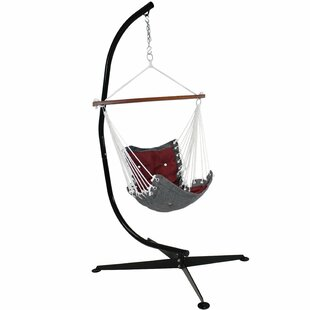 Stafford Tufted Victorian Chair Hammock with Stand
