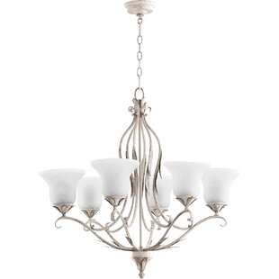 Harnois 6-Light Shaded Chandelier by Lark Manor
