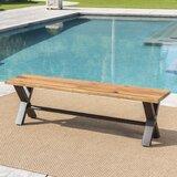 Polito Outdoor Wooden Picnic Bench