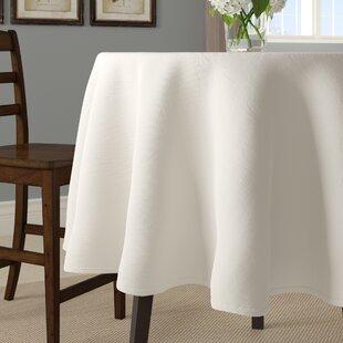 Ellison Faux Burlap Tablecloth