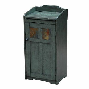 wood 13 gallon trash can - Wooden Kitchen Trash Container