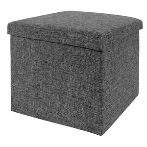 Peachy Zipcode Design Zosia Foldable Storage Foot Stool Cube Pabps2019 Chair Design Images Pabps2019Com