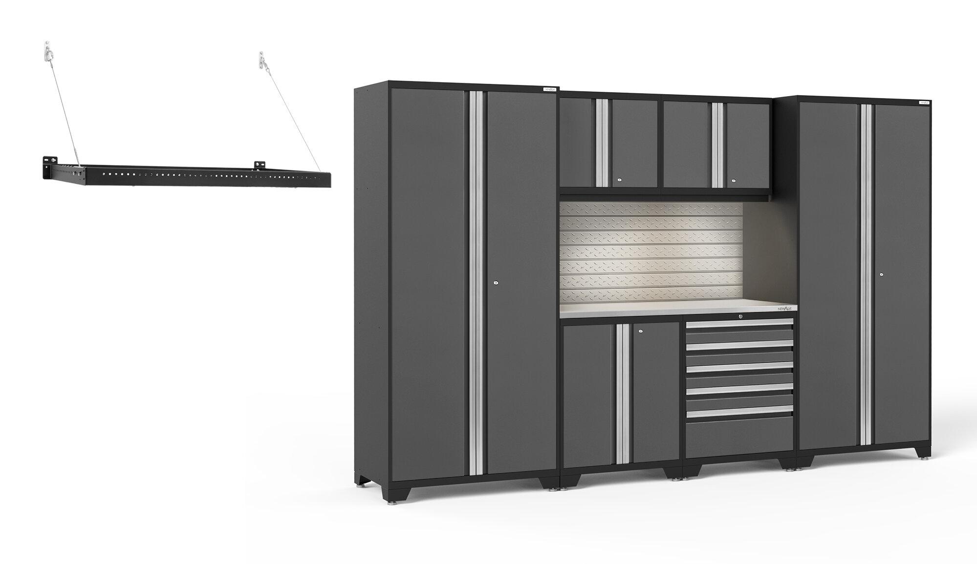 Newage Products Pro 3 0 Series 7 Piece Storage Cabinet Set Wayfair
