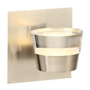 Ebern Designs Midsomer 1-Light LED Bath Sconce