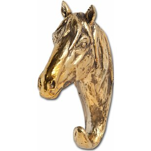 Resin Horse Bust Wall Hook