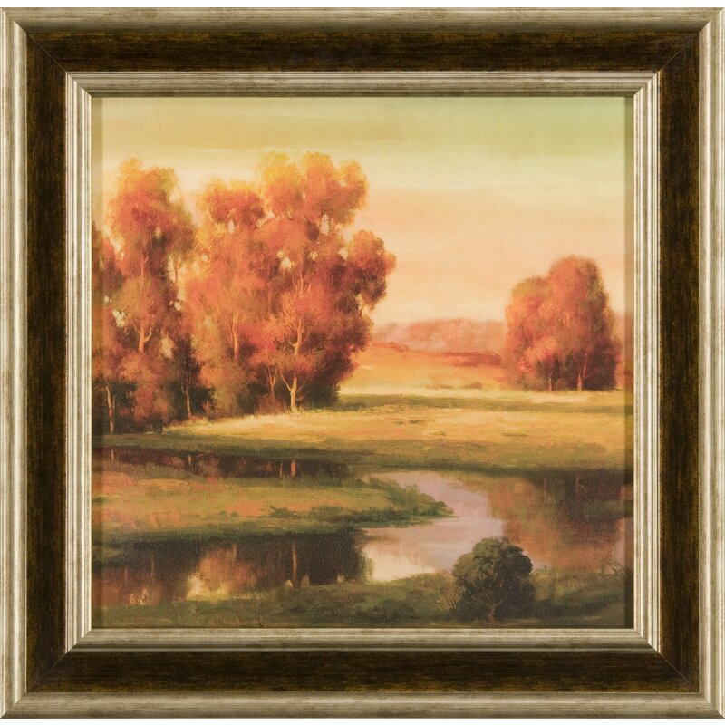 Art Décor Serene I Framed Painting