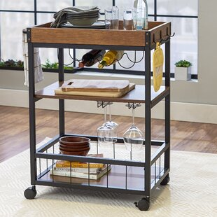 Byerly Kitchen Cart Williston Forge
