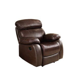 Novoa Leather Manual Recliner