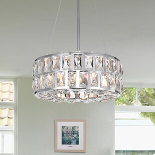 Mcglone 3-Light Crystal Chandelier