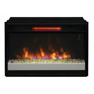 Hiott Electric Fireplace Insert by Symple Stuff