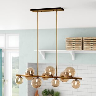 Coder 10-Light  LED  Pendant By Brayden Studio