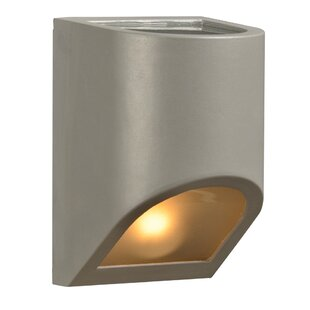 Reviews Kingsbridge 1-Light Outdoor Flush Mount By Ebern Designs