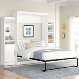 Beecroft Storage Murphy Bed by Latitude Run®