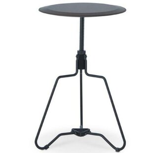 Korey Adjustable End Table by 17 Stories