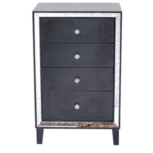 Pelkey 4 Drawer Accent Chest by House of Hampton
