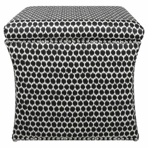Shasta Storage Ottoman by Skyline Furniture