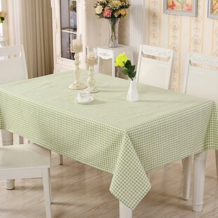Freier Natural Simple Tablecloth by August Grove