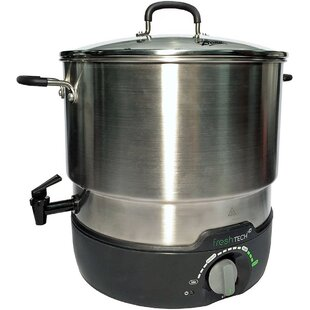 21 Qt. Fresh Tech Electric Water Bath Canner Multi-Cooker