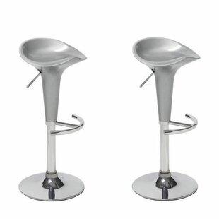 Check Price Headly Height Adjustable Bar Stool (Set Of 2)