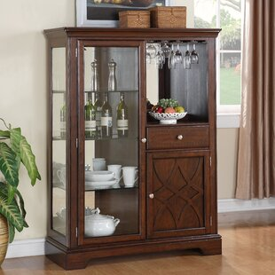 Insley Lighted China Cabinet