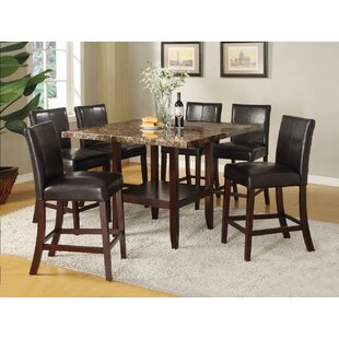 Winston Porter Quinonez Counter Height Dining Table