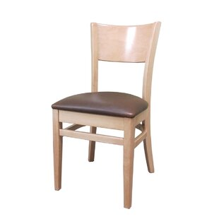 Denver Side Chair with Cushion by Holsag
