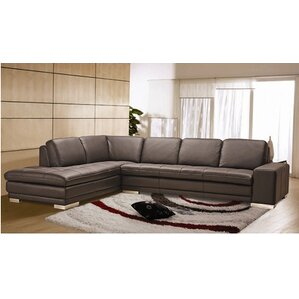Bender Leather Sectional  sc 1 st  Wayfair : natuzzi leather sectional - Sectionals, Sofas & Couches