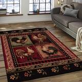 Super French Country Rooster Rugs Wayfair Best Image Libraries Thycampuscom