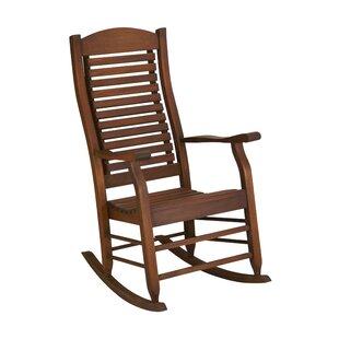 Best Reviews Mossman Slat Back Rocking Chair by Loon Peak Reviews (2019) & Buyer's Guide