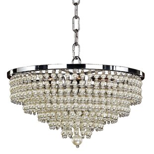 Glow Lighting Cava 6-Light Novelty Chandelier