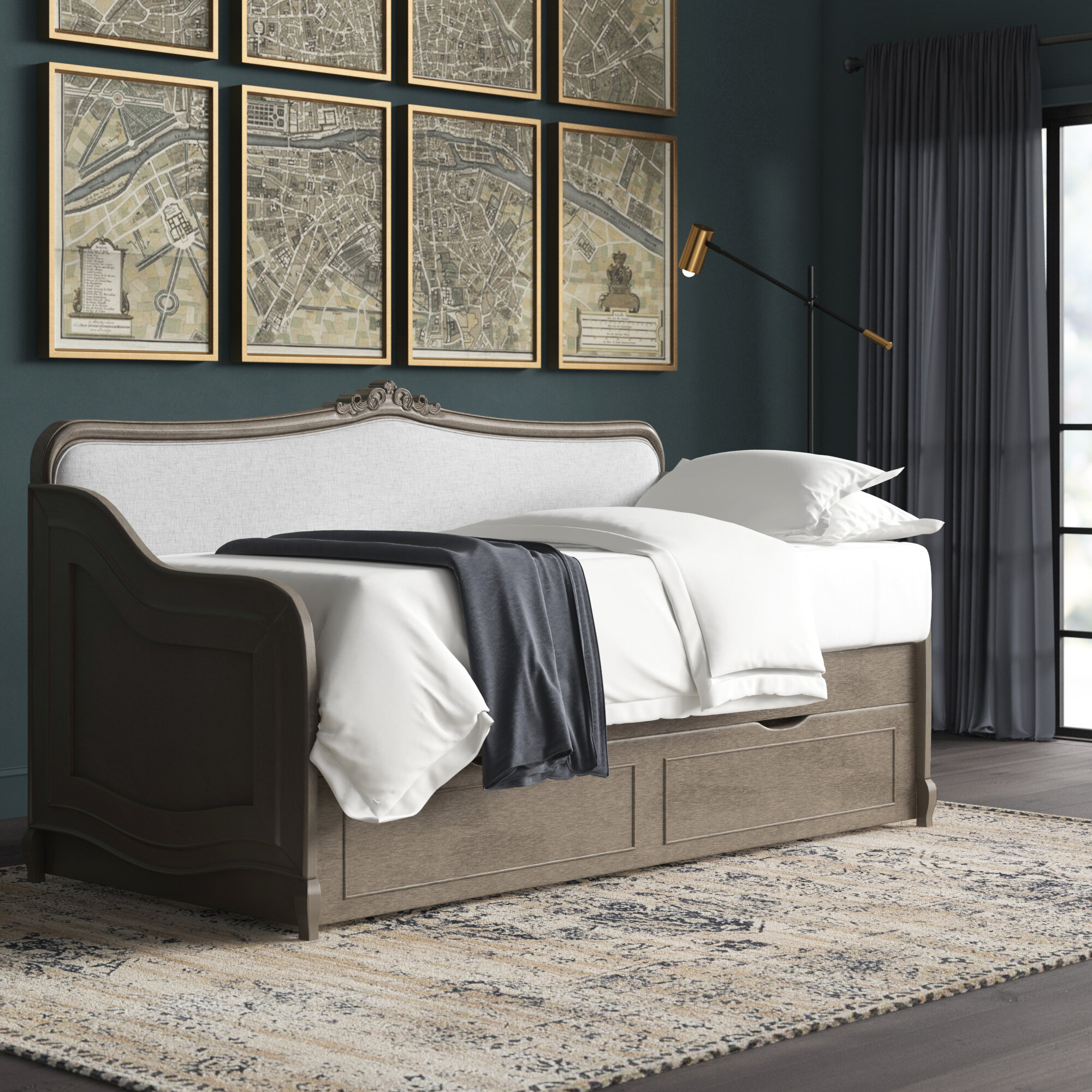 Greyleigh Troutdale Twin Daybed With Trundle