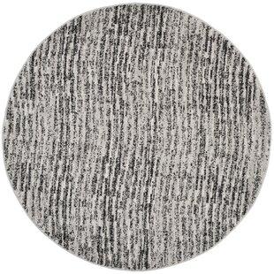 Millbrae Black/Gray Area Rug by Trent Austin Design
