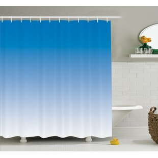 Fred Skyscape for Blue Lovers Print Single Shower Curtain