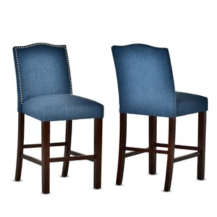 Ashmore 24 Bar Stool (Set of 2) Charlton Home