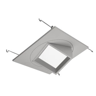 Square recessed lighting wayfair 5 multi adjustable square recessed lighting kit aloadofball Images