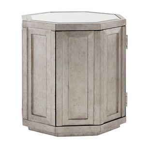 Ariana Rochelle Octagonal End Table with Storage