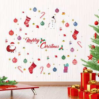 De Haute Qualite Merry Christmas Santa Wall Decal