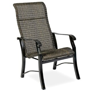 Woodard Cortland Woven High Back Patio Dining Chair (Set of 2)