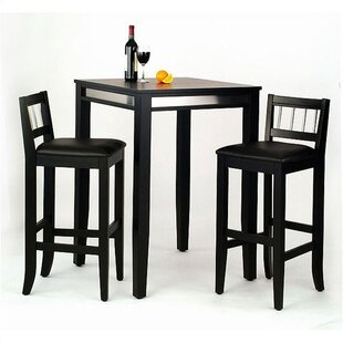Henry 3 Piece Pub Table Set by Latitude Run