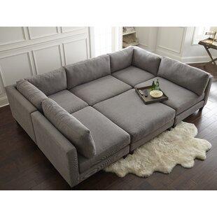 the pit sectional sofa wayfair