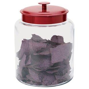 montana glass storage jar with lid - Large Glass Jars With Lids