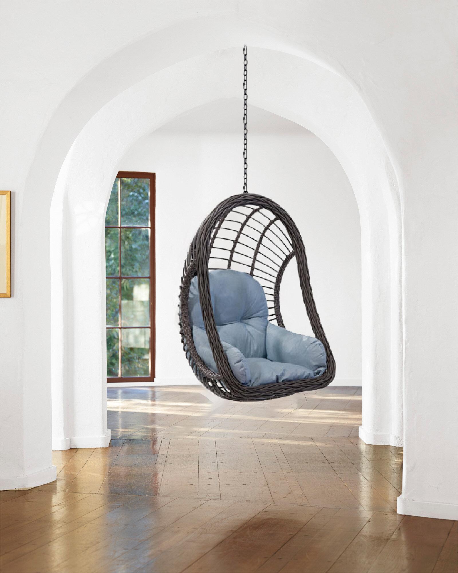 Bloomsbury Market Granier Hanging Swing Chair Reviews