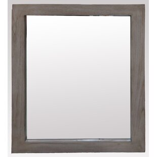 Laurel Foundry Modern Farmhouse Hettinger Rectangle Wood Wall Mirror