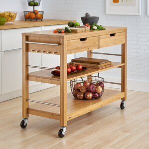 Destanee Kitchen Island by Darby Home Co