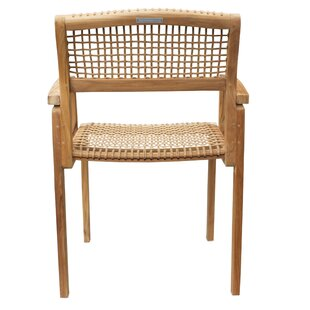 Alcala Solid Wood Dining Chair by Bungalo..
