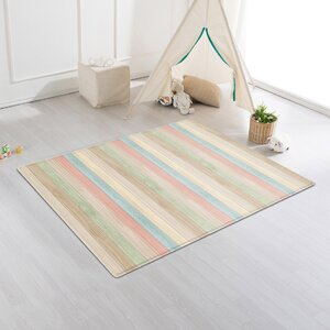 Color Wood/Rising Star Cushion Floor Mat