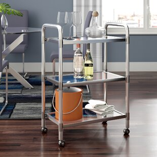Ebling Trolley Bar Cart by Orren Ellis
